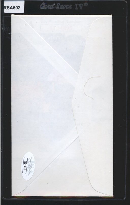 1979 cachet envelope signed rod carew los angeles angels jsa top view