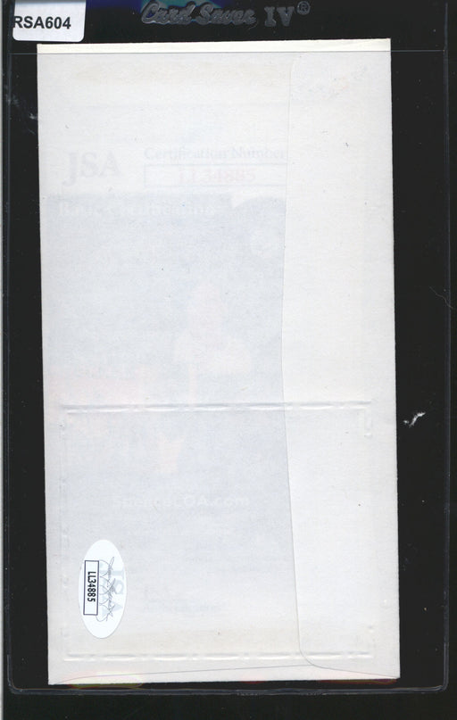 1983 cachet envelope signed gary carter montreal expos jsa 4 top view