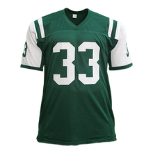 Jamal Adams Autographed pro style Football Jersey Green Throwback style (JSA COA)