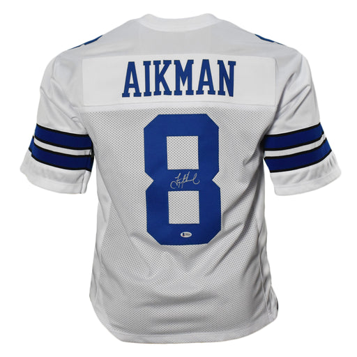 Troy Aikman Signed White Pro-Edition Jersey (Beckett)
