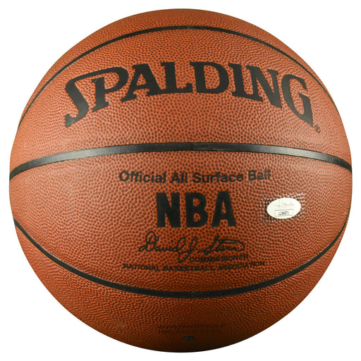 Carmelo Anthony Signed Spalding NBA All Surface Basketball (JSA)