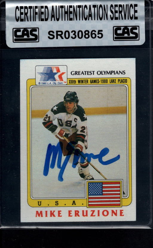 1983 finder signed 36 mike eruzione usa cas top view
