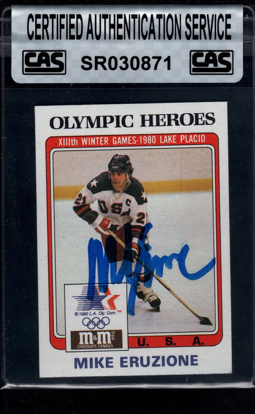 1983 finder signed 13 mike eruzione usa cas top view