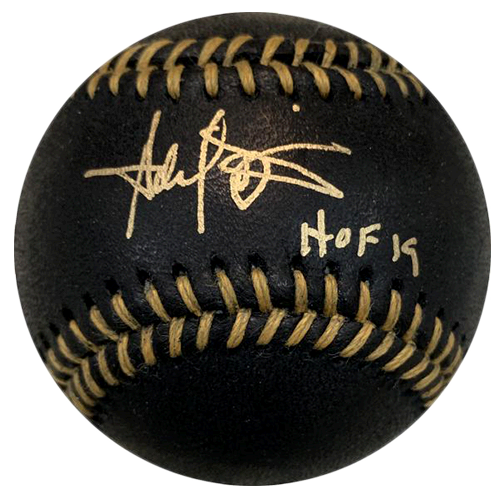 Harold Baines Autographed Black & Gold Official Major League Baseball (JSA) HOF Inscription! HOT!