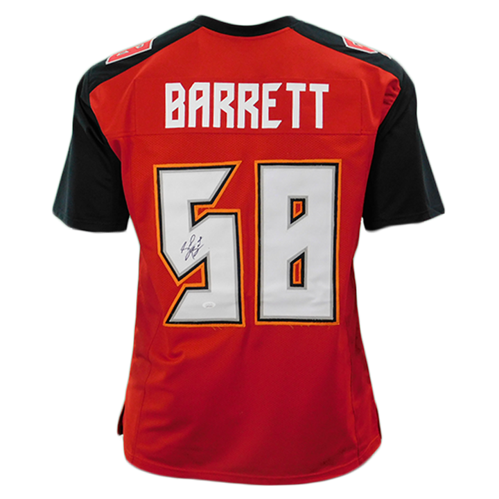 Shaquil Barrett Signed Red Pro-Edition Jersey (JSA)