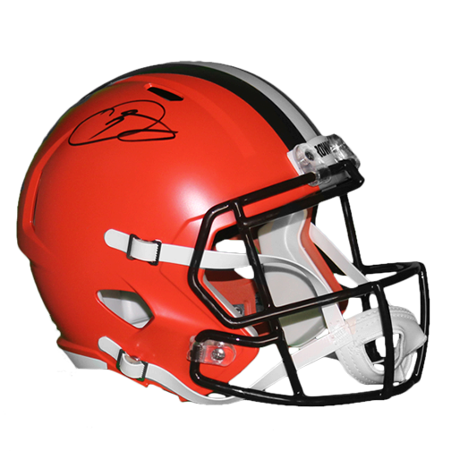 Odell Beckham Jr Cleveland Browns Autographed Full Size Replica Speed Football Helmet! (JSA)