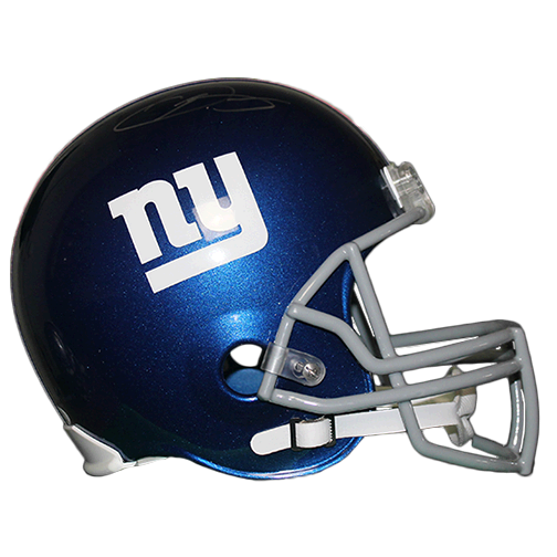 Odell Beckham Jr New York Giants Football Autographed Full Size Replica Helmet (JSA COA)