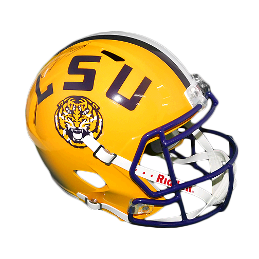 Odell Beckham Jr. Signed LSU Tigers Full-Size Speed Replica Helmet (JSA)