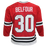 Ed Belfour Pro Throwback Style Autographed Chicago Hockey Jersey Red (JSA)