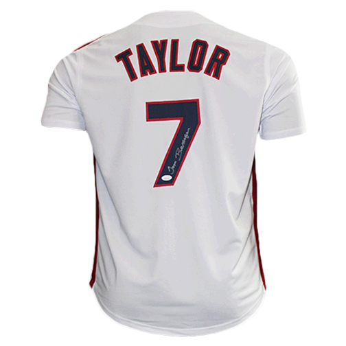 Tom Berenger (Jake Taylor) Major League Movie Autographed Baseball Jersey White (JSA)