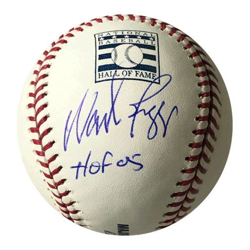 Wade Boggs Autographed Official Major League Hall of Fame Baseball (JSA) HOF Inscription Included