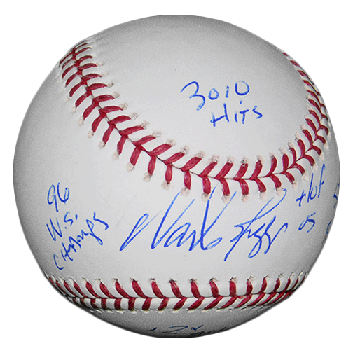 Wade Boggs Autographed Official Major League Baseball (JSA) W/ 5 Inscription Included