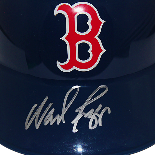 Wade Boggs Autographed Boston Red Sox Full Size Souvenir Baseball Batting Helmet (JSA COA)