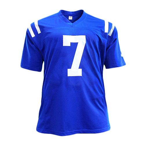 Jacoby Brissett Signed Pro Edition Football Jersey Blue (JSA)