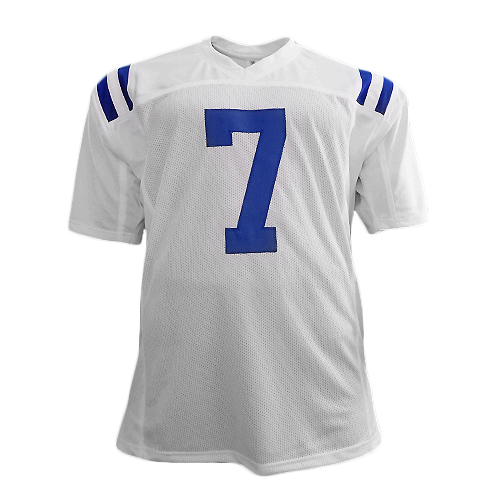 Jacoby Brissett Signed Pro Edition Football Jersey White (JSA)