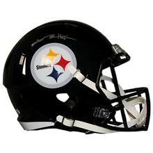 Antonio Brown Pittsburgh Steelers Autographed Football Full Size Speed Replica Helmet (JSA COA)