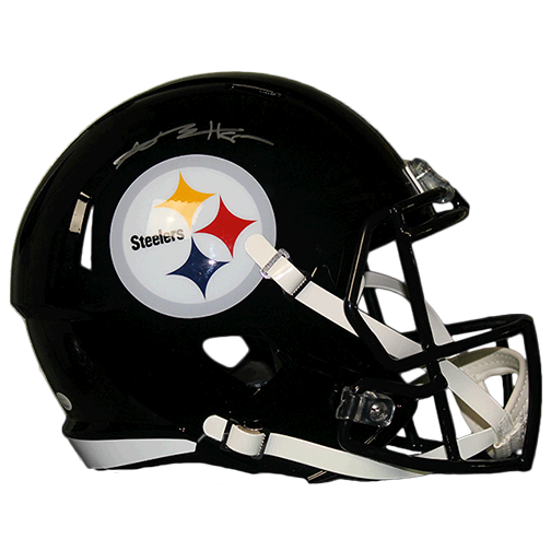 Antonio Brown Pittsburgh Steelers Autographed Football Full Size Speed Replica Helmet (JSA)