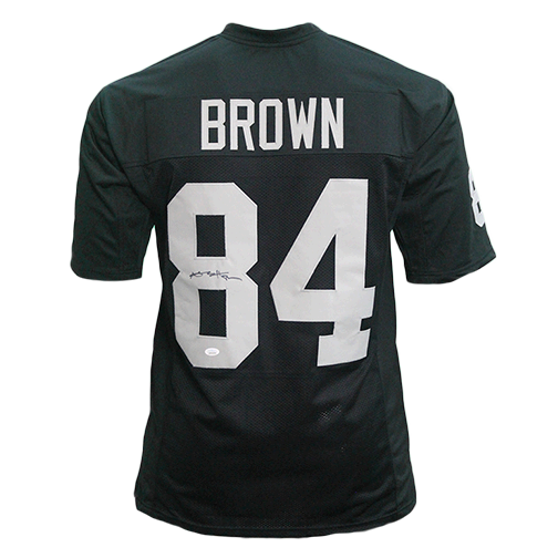 Antonio Brown Autographed Pro Style Football Jersey Black (JSA)