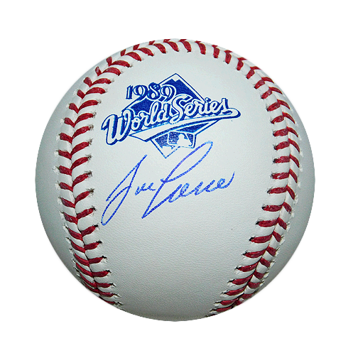Jose Canseco Signed Official '89 World Series Ball (JSA)