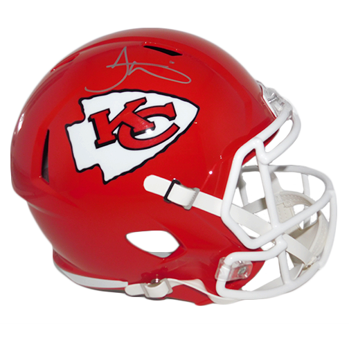 Tyreek Hill Autographed Kanses City Chiefs Full Size Speed Football helmet (JSA-Certified)
