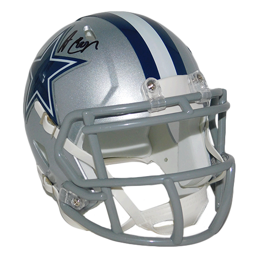 Amari Cooper Autographed Dallas Cowboys Speed Mini Helmet (JSA COA)