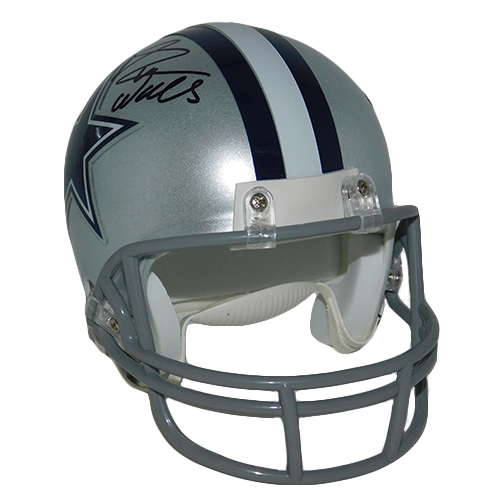 Everson Walls Autographed Dallas Cowboys mini Helmet (JSA-Certified)