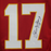 Steve DeBerg Kansas City Chiefs Autographed Football Jersey Red (JSA)