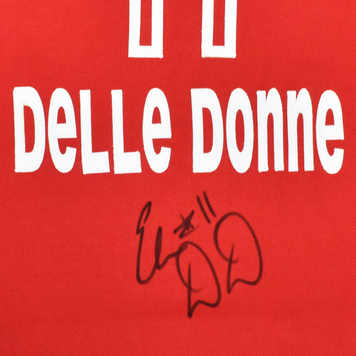 Elena Delle Donne Signed Washington Red Basketball Jersey (JSA)