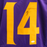 Stefon Diggs Autographed Pro Style Football Jersey Color Rush (JSA)