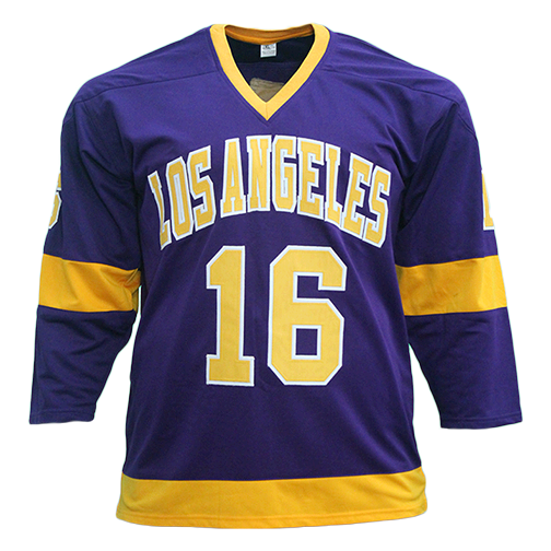 Marcel Dionne Los Angeles Autographed Pro Style Hockey Jersey Purple (JSA) HOF Inscription Included