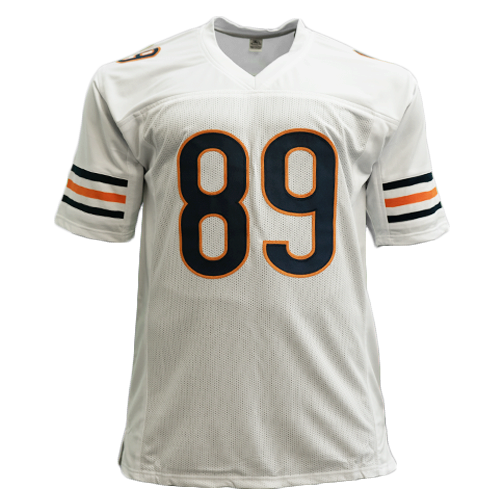 Mike Ditka Autographed White Pro Style Football Jersey Beckett