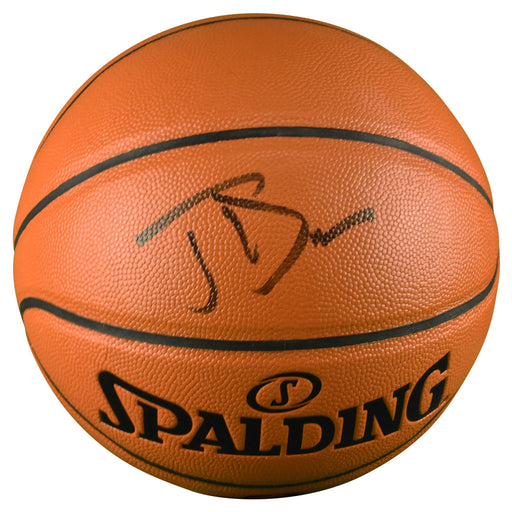 Joe Dumars Signed Spalding NBA Game Series Basketball (JSA)