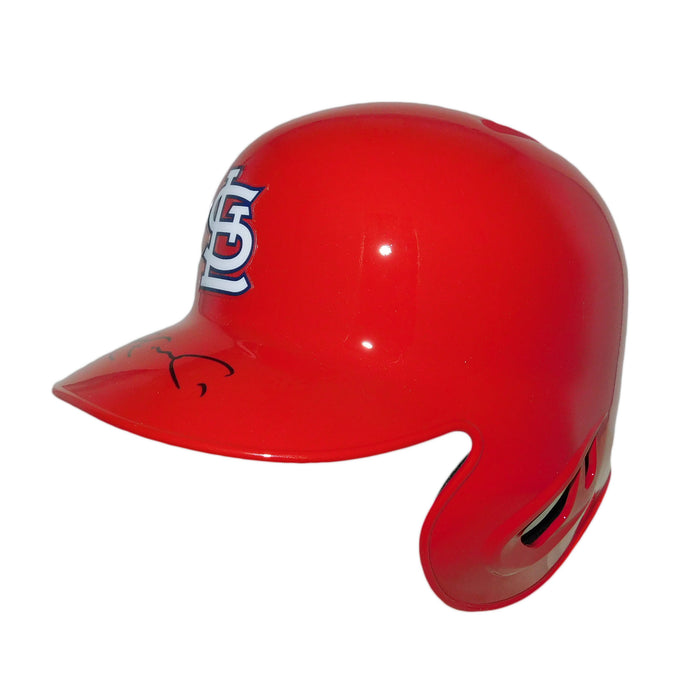 Jim Edmonds St. Louis Autographed Replica Baseball Helmet (JSA)