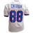 Evan Engram Autographed Pro Style Football Jersey White Color Rush (JSA)