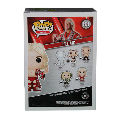 Ric Flair Autographed Wrestling Pop Funko! (JSA)