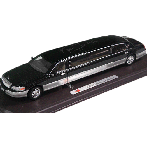 Ric Flair Autographed Black Mini Limo (JSA)