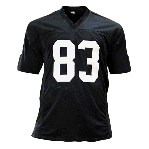 Willie Gault Signed Pro Edition Black Football Jersey (JSA)