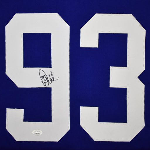 Doug Gilmour Signed Toronto Blue Hockey Jersey (JSA)
