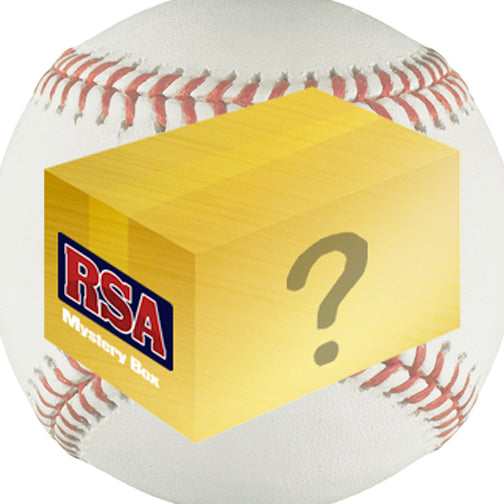 Gold Baseball Mystery Autograph Box
