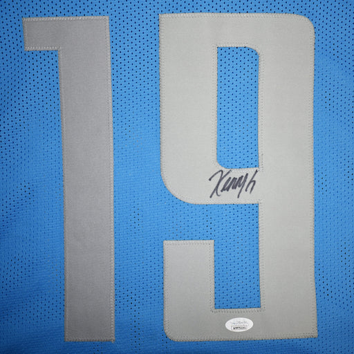 Kenny Golladay Signed Pro-Edition Blue Football Jersey (JSA)