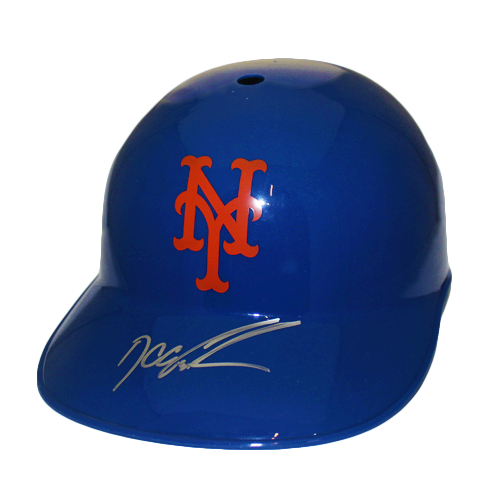 "Dwight ""Doc"" Gooden New York Mets Autographed Full Size Souvenir Baseball Batting Helmet (JSA COA)"