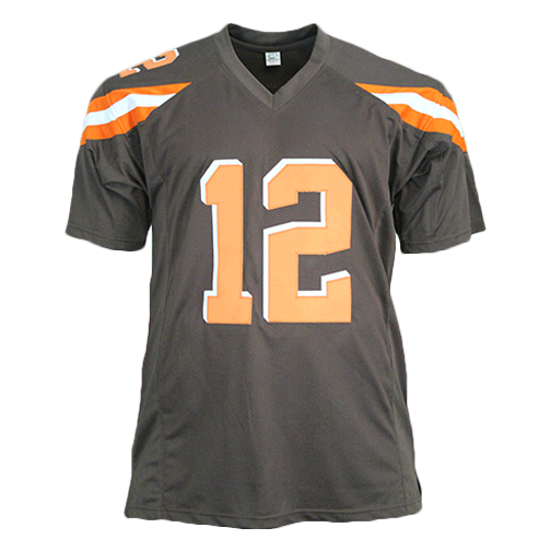 Josh Gordon Pro Style Autographed Football Jersey Brown (JSA)