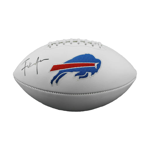Frank Gore Signed Buffalo Bills Logo Football (JSA)