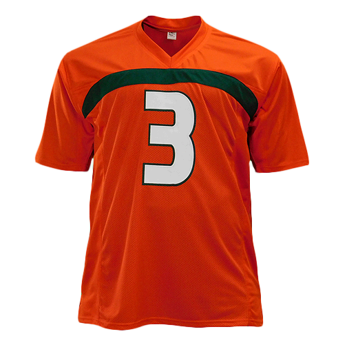 Frank Gore Signed Orange College-Edition Jersey (JSA)