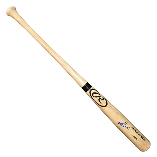 Mark Grace Signed Rawlings Pro Blonde Bat (JSA)