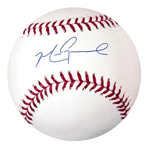 Mark Grace Autographed Official Major League Baseball (JSA COA)