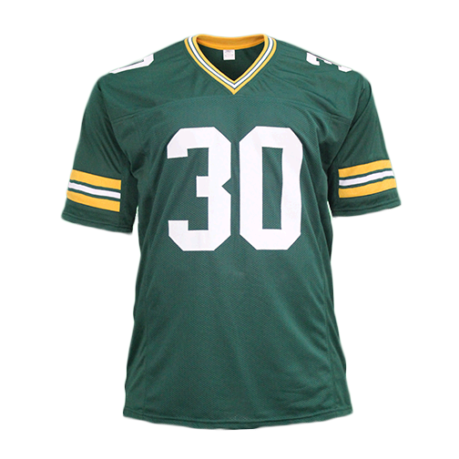 Ahman Green Pro Style Autographed Football Jersey Green (Beckett)