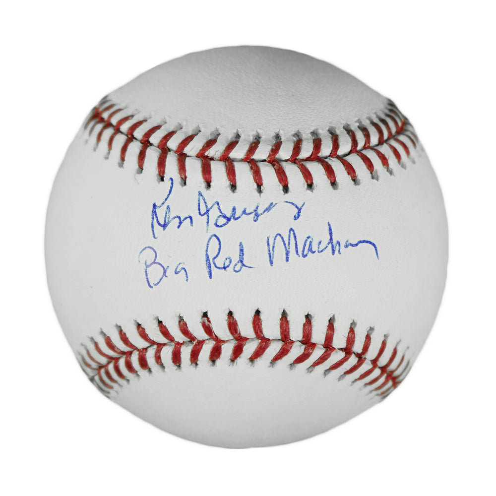 Ken Griffey Sr Signed Big Red Machine Inscription Official Major League Baseball (JSA)