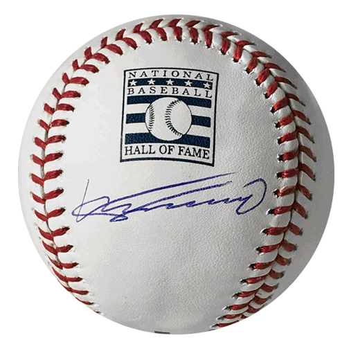 Vladimir Guerrero Autographed Special Edition Hall of Fame Official Major League Baseball JSA COA