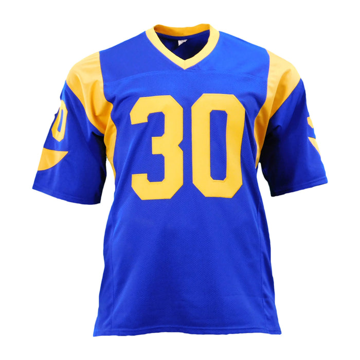 Todd Gurley Signed Blue Pro-Edition Jersey (JSA)